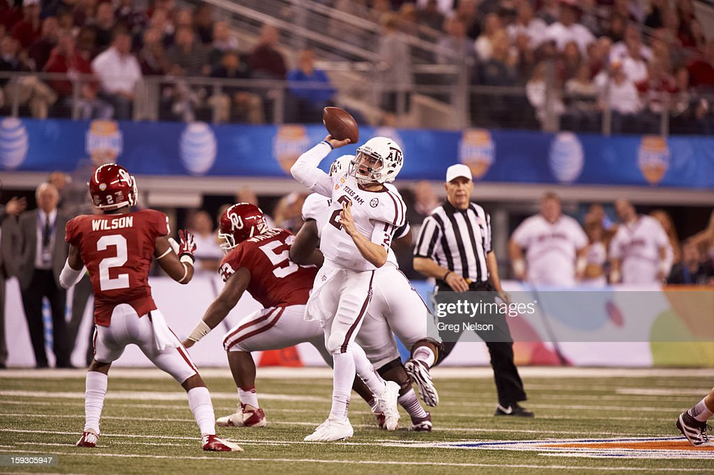 Texas A&M University vs University of Oklahoma, 2013 AT&T Cotton Bowl Classic