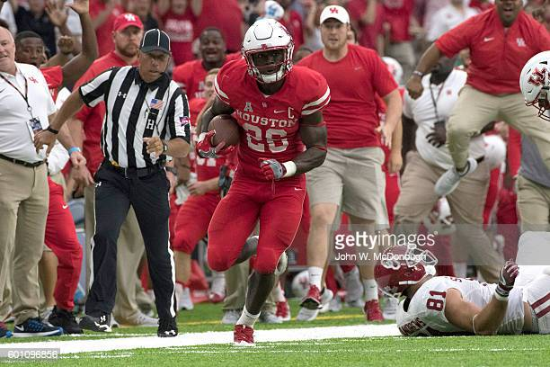 Houston Brandon Wilson in action vs Oklahoma at NRG Stadium Houston TX CREDIT John W McDonough