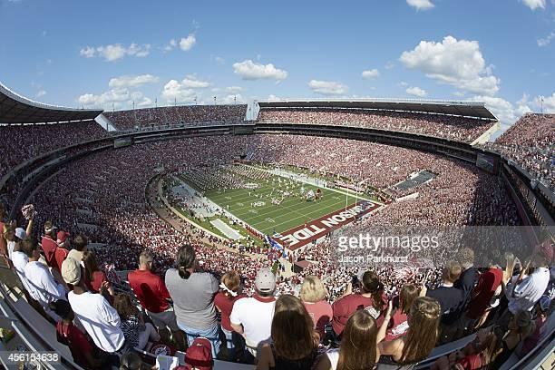 Overall aerial view of BryantDenny Stadium during Alabama vs Florida game Tuscaloosa AL CREDIT Jason Parkhurst