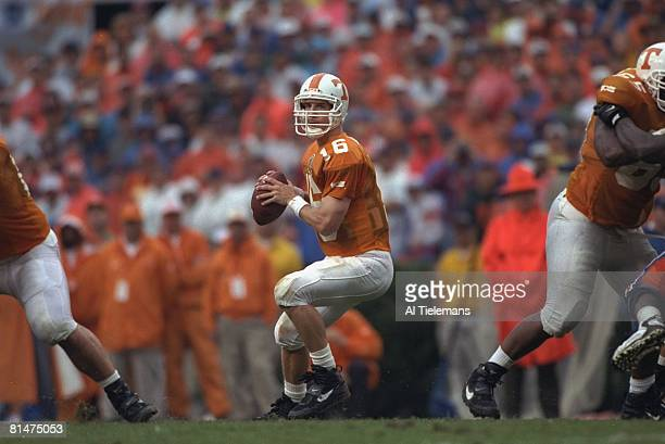 College Football Tennessee QB Peyton Manning in action vs Florida Knoxville TN 9/21/1996