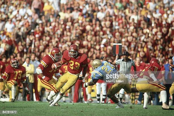 USC Marcus Allen in action rushing vs UCLA Los Angeles CA CREDIT Manny Millan
