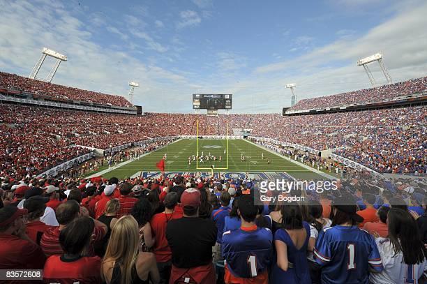 View of fans during Florida vs Georgia Jacksonville FL 11/1/2008 CREDIT Gary Bogdon