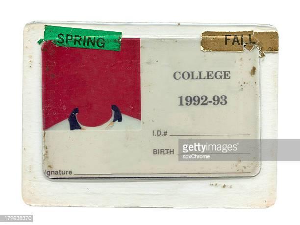 College ID - Grunge