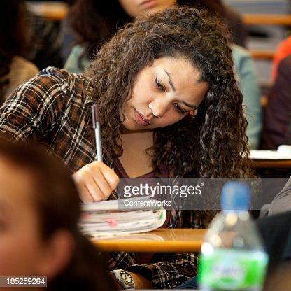 大学の学生、レクチャーホール