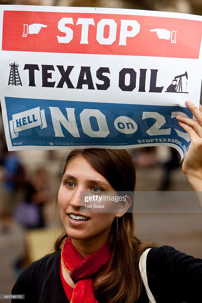 College students against prop 23 a California ballot measure that would suspend California's strict greenhouse gasreduction standards hold a voter...