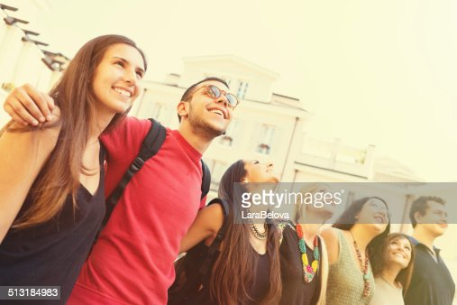 College students together