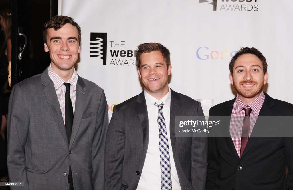 'Collegehumor.com' attends the 16th Annual Webby Awards on May 21, 2012 in New York City.