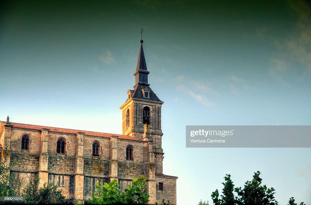 Collegiate Church of San Pedro in Lerma (Spain)