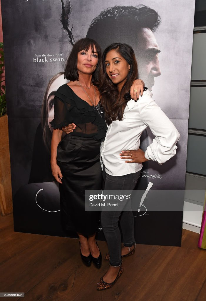 Collete Cooper and Tina Daheley attend a screening of 'mother!' hosted by Collette Cooper and Paramount Pictures in collaboration with Edible Cinema at The Soho Hotel on September 13, 2017 in London, England.