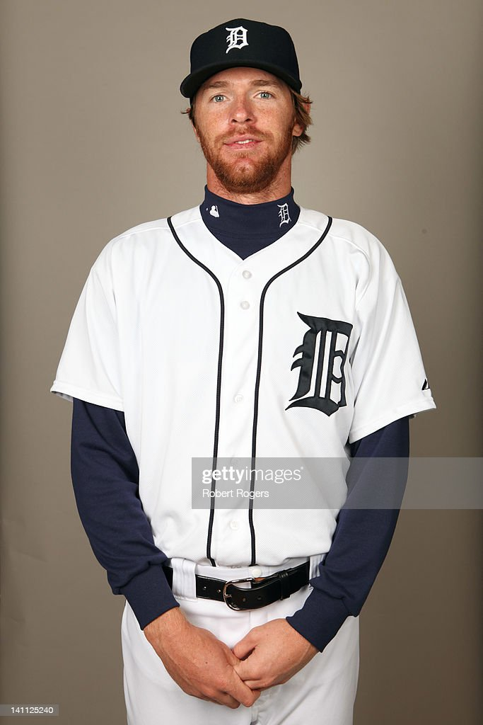 <a gi-track='captionPersonalityLinkClicked' href=/galleries/search?phrase=Collin+Balester&family=editorial&specificpeople=4424735 ng-click='$event.stopPropagation()'>Collin Balester</a> (31) of the Detroit Tigers poses during Photo Day on Tuesday, February 28, 2012 at Joker Marchant Stadium in Lakeland, Florida.