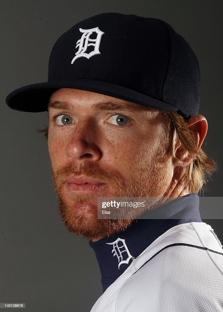 <a gi-track='captionPersonalityLinkClicked' href=/galleries/search?phrase=Collin+Balester&family=editorial&specificpeople=4424735 ng-click='$event.stopPropagation()'>Collin Balester</a> #31 of the Detroit Tigers poses for a portrait on February 28, 2012 at Joker Marchant Staduim in Lakeland, Florida.