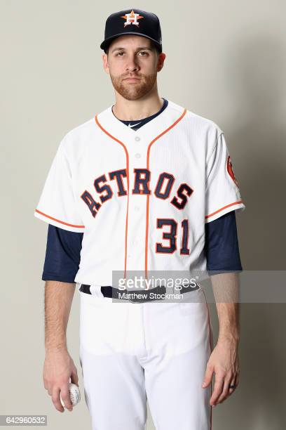 Collin McHugh of the Houston Astros poses for a portrait during Houston Astros Photo Day at The Ballpark of the Palm Beaches on February 19 2017 in...