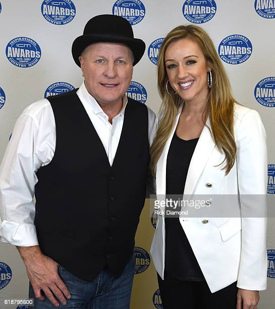 Collin Raye and Megan Alexander host the 2016 Inspirational Country Music Association Awards at Trinity Music City on October 27 2016 in...