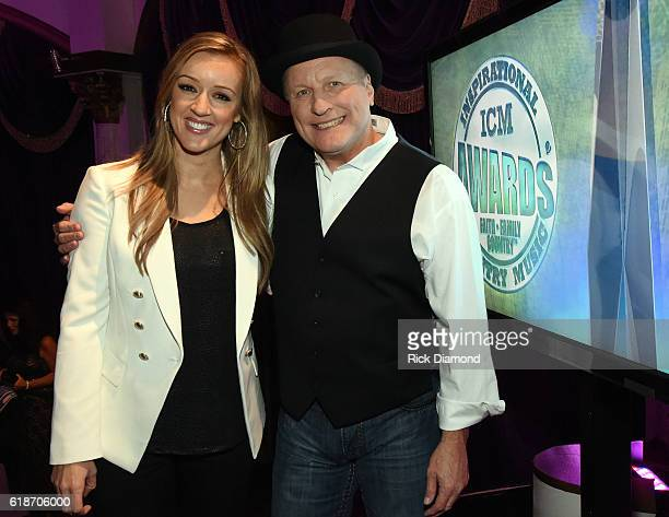Collin Raye and Megan Alexander hosts the 2016 Inspirational Country Music Association Awards at Trinity Music City on October 27 2016 in...