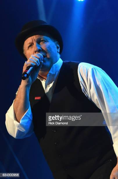 Collin Raye performs during 1 Night 1 Place 1 Time A Heroes Friends Tribute to Randy Travis at Bridgestone Arena on February 8 2017 in Nashville...