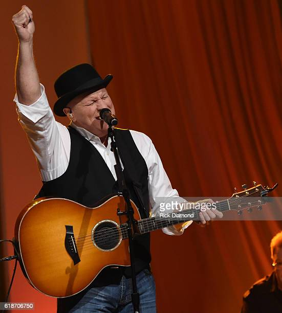 Collin Raye performs during the 2016 Inspirational Country Music Association Awards at Trinity Music City on October 27 2016 in Hendersonville...
