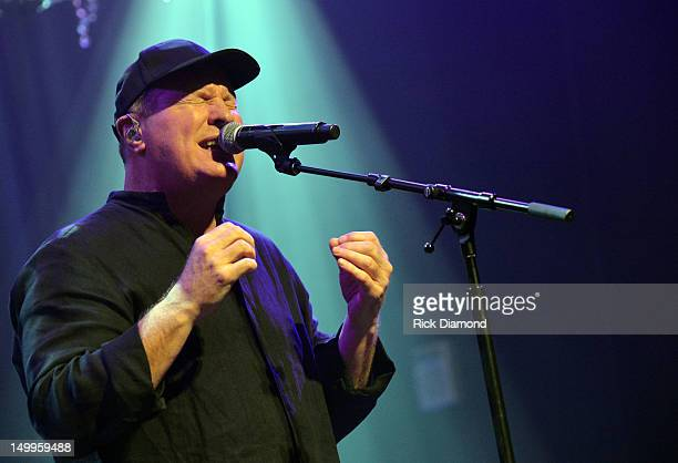 Collin Raye performs during the concert to benefit the Buddy Care Foundation at Franklin Theatre on August 7 2012 in Franklin Tennessee