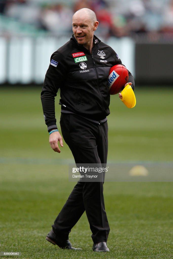 AFL Rd 23 - Collingwood v Melbourne