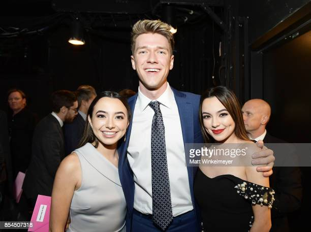 Collins Key and the Merrell Twins at the 2017 Streamy Awards at The Beverly Hilton Hotel on September 26 2017 in Beverly Hills California