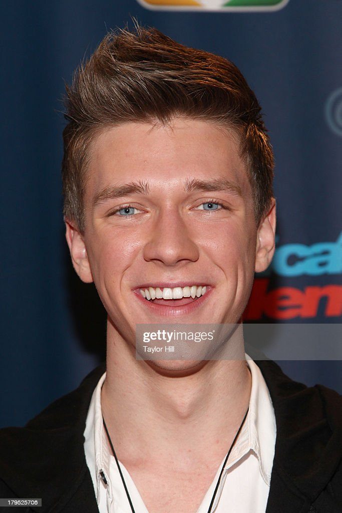 Collins Key attends the 'America's Got Talent' Season 8 Red Carpet Event at Radio City Music Hall on September 4, 2013 in New York City.