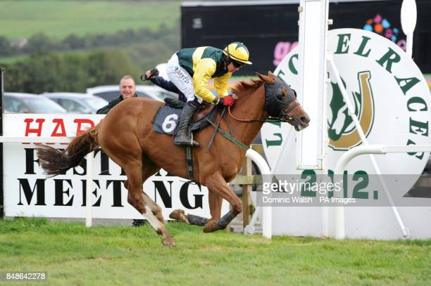 Colls Corner ridden by Davy Condon wins the Seamus Mulvaney Handicap Chase at Listowel Racecourse
