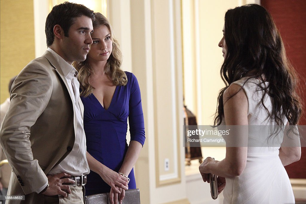 REVENGE - 'Collusion' - With Emily by his side, Daniel goes toe to toe with his fiercest business rival, Jason Prosser, to land an important deal that Victoria is determined to block. Aiden takes a very dark turn, and Jack and Amanda's future lands in the unlikely hands of Conrad Grayson, on 'Revenge,' SUNDAY, JANUARY 20 (9:00-10:01 p.m., ET), on the ABC Television Network. STOWE