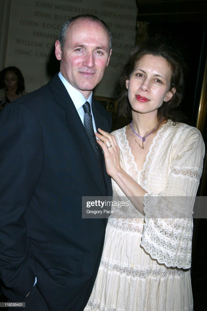 Colm Feore and Jessica Hecht during 'Julius Caesar' Broadway Opening Night After Party at Gotham Hall in New York City New York United States