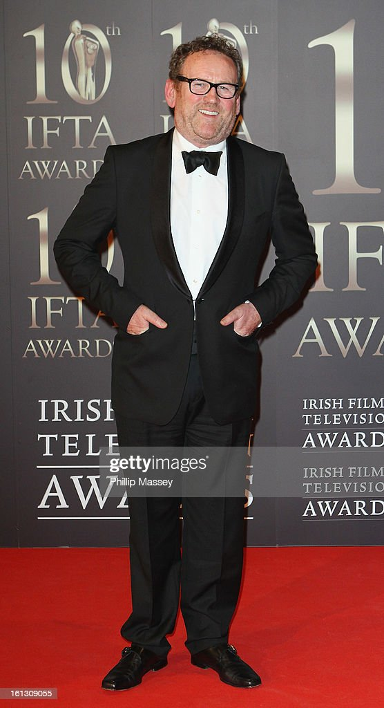 <a gi-track='captionPersonalityLinkClicked' href=/galleries/search?phrase=Colm+Meaney&family=editorial&specificpeople=239198 ng-click='$event.stopPropagation()'>Colm Meaney</a> attends the Irish Film and Television Awards at the Convention Centre Dublin on February 9, 2013 in Dublin, Ireland.