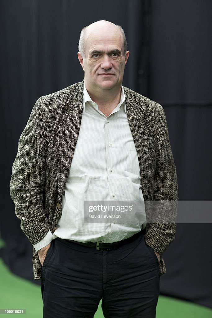 Colm Toibin, writer, attends The Telegraph Hay festival at Dairy Meadows on May 26, 2013 in Hay-on-Wye, Wales.