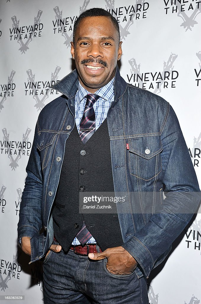 Colman Domingo attends the off Broadway opening night of 'The North Pool' at Vineyard Theatre on March 6, 2013 in New York City.