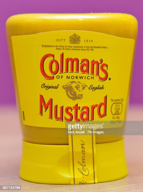 Colman's Mustard products as Unilever has launched a review of its operations at the its production site in Norwich putting 113 jobs at risk at its...