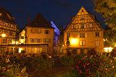 Colmar Place de l`Ancienne Douane Alsace Wine Route Alsace Wine Route HautRhin France Europe