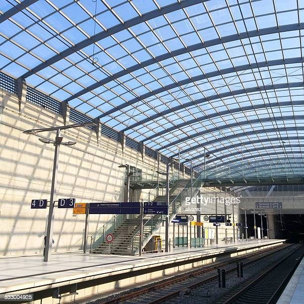 Cologne airport subway station