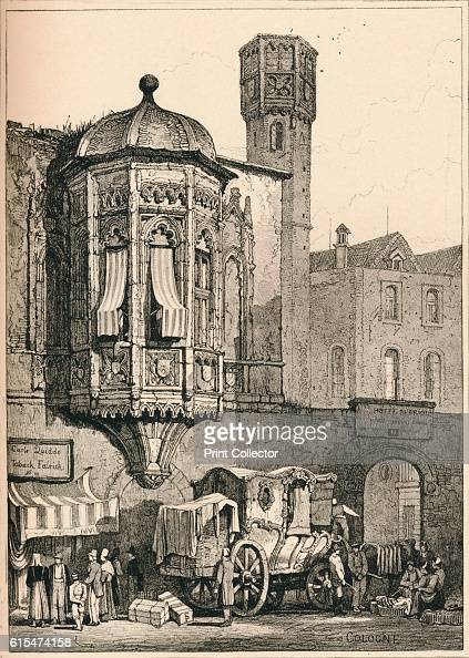 Cologne' c1820 Cologne is the largest city in the German federal State of North RhineWestphalia and the fourthlargest city in Germany From Sketches...