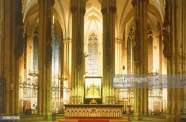 Cologne Cathedral, altar and shrine, Germany