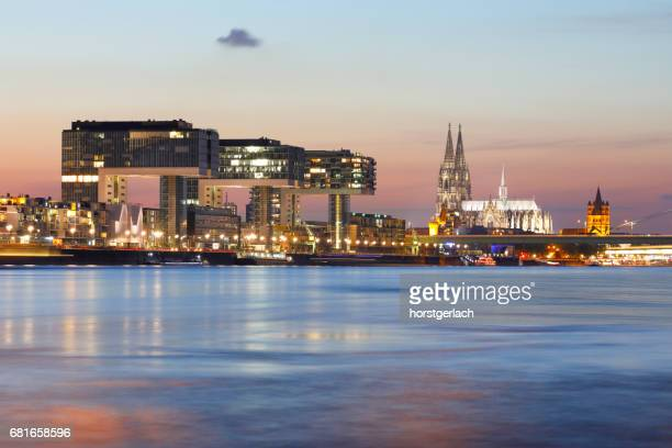 Cologne Cathedral and Crane Buildings, Cologne, Germany