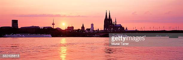 Cologne Cathedral and Rhine River