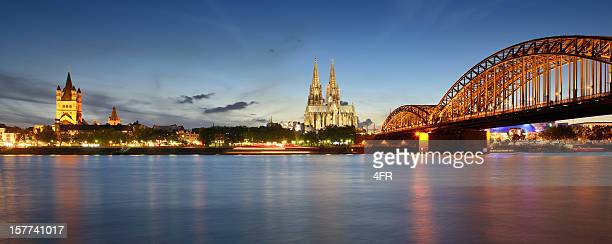 Cologne Skyline with Cathedral At Sunset (XXXL)