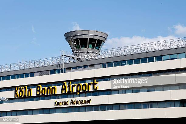 CologneBonn airport is seen on September 26 2008 in Cologne Germany In the morning two Somaliborn terror suspects were arrested by police after...