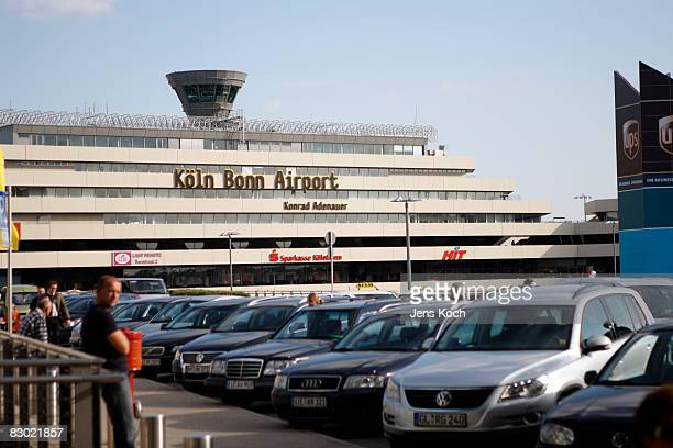CologneBonn airport on September 26 2008 in Cologne Germany In the morning two Somaliborn terror suspects were arrested by police after storming a...