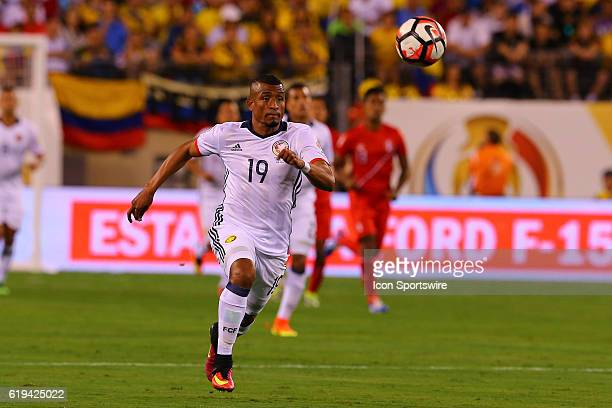 Colombia defender Farid Diaz during the first half of the 2016 Copa America Centinario Quarterfinal game between Columbia and Peru in penalty kicks...
