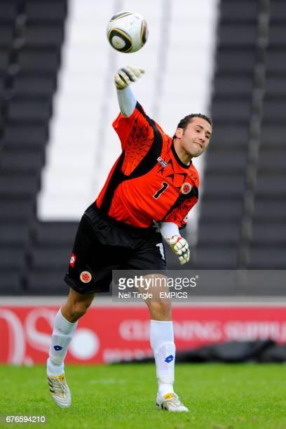 Colombia goalkeeper David Ospina