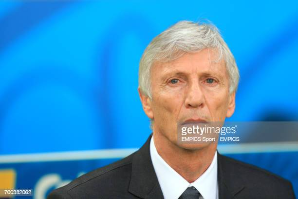 Colombia manager Jose Pekerman