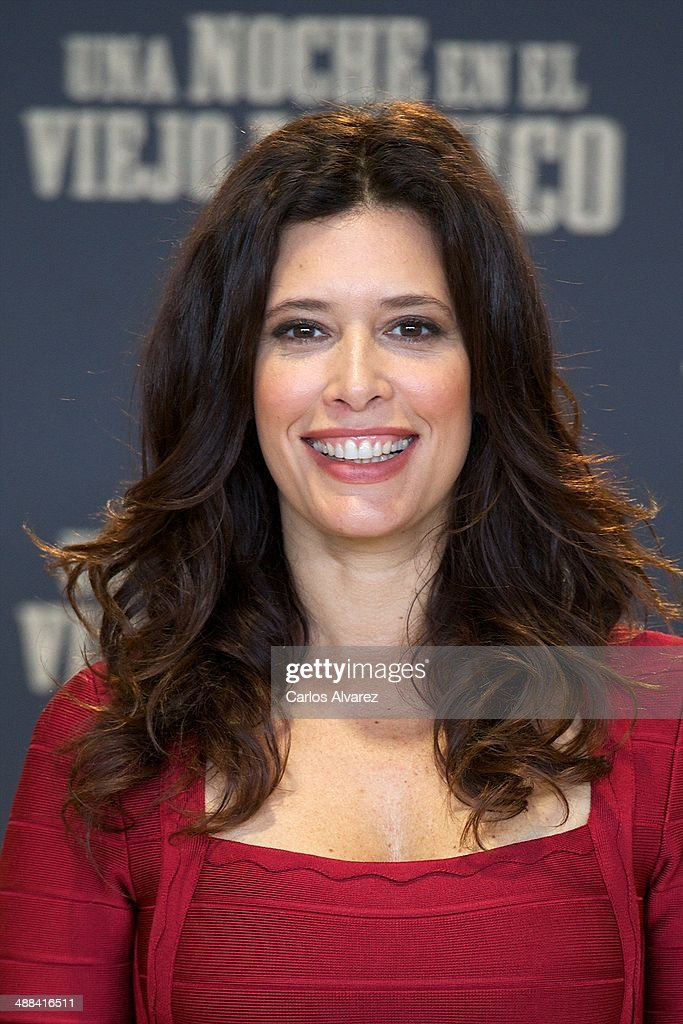 Colombian actress <a gi-track='captionPersonalityLinkClicked' href=/galleries/search?phrase=Angie+Cepeda&family=editorial&specificpeople=714711 ng-click='$event.stopPropagation()'>Angie Cepeda</a> attends the 'A Night in Old Mexico' (Una Noche en el Viejo Mexico) photocall at the Telefonica Foundation on May 6, 2014 in Madrid, Spain