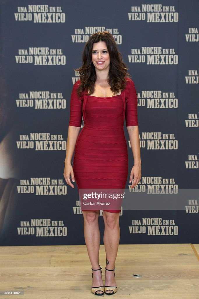 Colombian actress Angie Cepeda attends the 'A Night in Old Mexico' (Una Noche en el Viejo Mexico) photocall at the Telefonica Foundation on May 6, 2014 in Madrid, Spain
