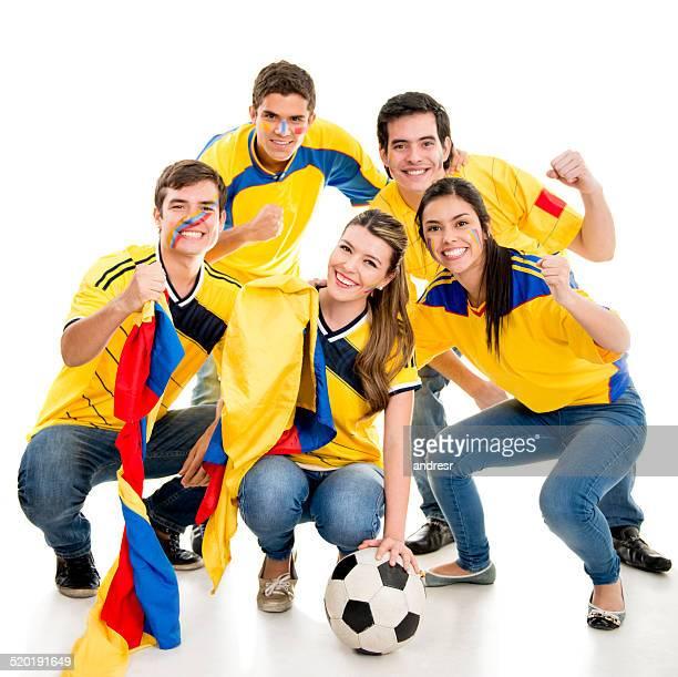Colombian soccer fan