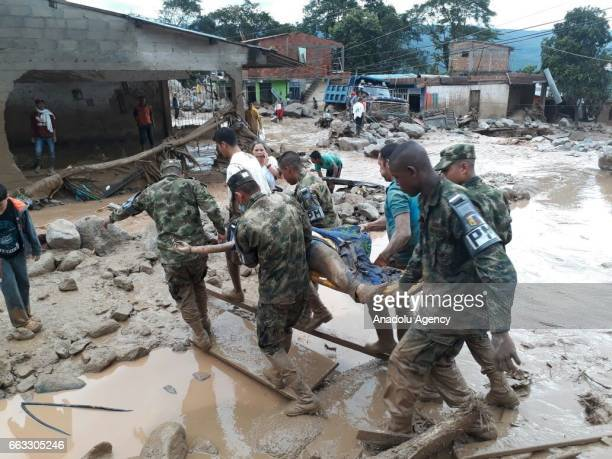 EDITORIAL USE ONLY MANDATORY CREDIT 'COLOMBIAN ARMY / HANDOUT' NO MARKETING NO ADVERTISING CAMPAIGNS DISTRIBUTED AS A SERVICE TO CLIENTS Colombian...