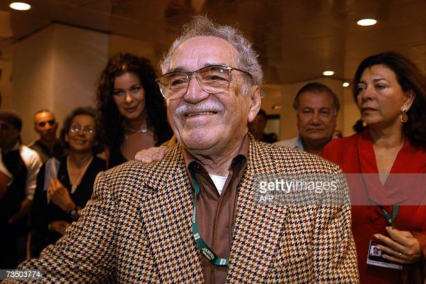 Colombian writer and Nobel Prize for Literature 1982 Gabriel Garcia Marquez attends 05 December 2006 in Havana the inauguration of the XXVIII New...