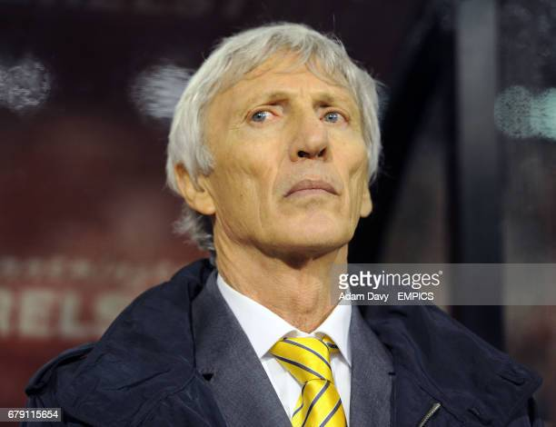 Colombia's coach Jose Pekerman