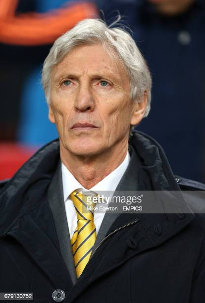 Colombia's manager Jose Nestor Pekerman